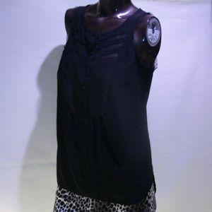 #19 VERA WANG Blouse-Black